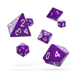 OAKIE DOAKIE DICE DES SET SOLID VIOLET