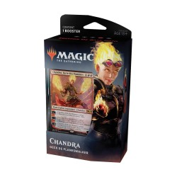 MAGIC THE GATHERING DECK DE PLANESWALKER EDITION DE BASE 2020 CHANDRA