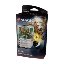 MAGIC THE GATHERING DECK DE PLANESWALKER EDITION DE BASE 2020 AJANI