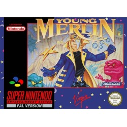 YOUNG MERLIN OCCASION SUR SNES PAL VERSION