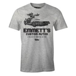 T-SHIRT (XL) BACK TO THE FUTURE EMMETT'S CUSTOM AUTOS