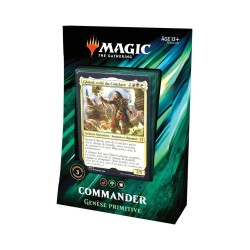 MAGIC THE GATHERING DECK COMMANDER 2019 GENESE PRIMITIVE