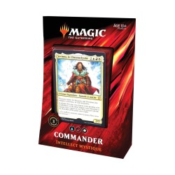 MAGIC THE GATHERING DECK COMMANDER 2019 INTELLECT MYSTIQUE