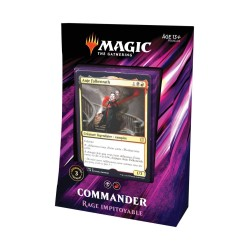 MAGIC THE GATHERING DECK COMMANDER 2019 RAGE IMPITOYABLE