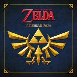 THE LEGEND OF ZELDA CALENDRIER 2020