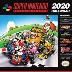SUPER NINTENDO CALENDRIER 2020