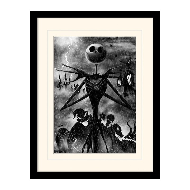 COLLECTOR PRINT NIGHTMARE BEFORE CHRISTMAS JACK