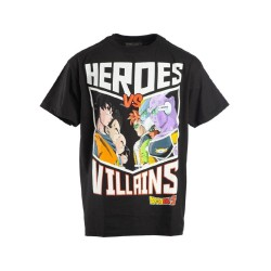 T-SHIRT 9-10 ANS DRAGON BALL Z HEROES VS VILLAINS