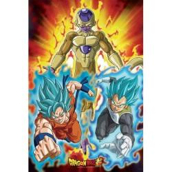 POSTER DRAGON BALL SUPER GOLDEN FREEZA