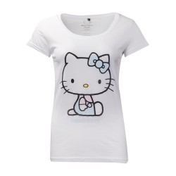 T-SHIRT (L) HELLO KITTY BRODERIES