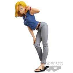 FIGURINE DRAGON BALL ANDROID 18 VERSION A 23 CM GLITTER AND GLAMOUS