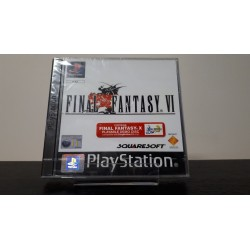 FINAL FANTASY 6 VI SOUS BLISTER PAL UK LEGER ACCRO EN FACADE