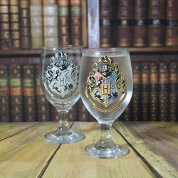 VERRE THERMO-RÉACTIF HARRY POTTER HOGWARTS