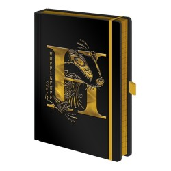 NOTEBOOK HARRY POTTER HUFFLEPUFF FOIL