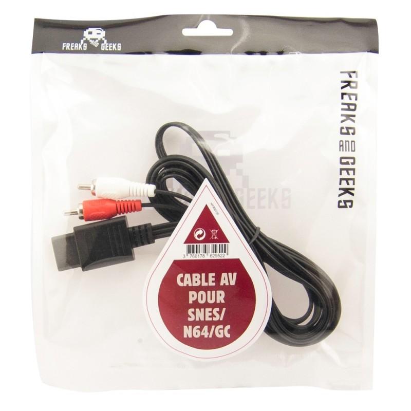 CABLE AV SNES N64 GC