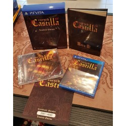 CURSED CASTILLA LIMITED EDITION 1000EX MINT JEUX BLISTER